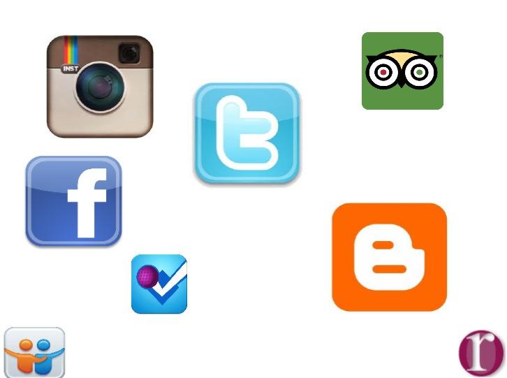 ppt social media tourism
